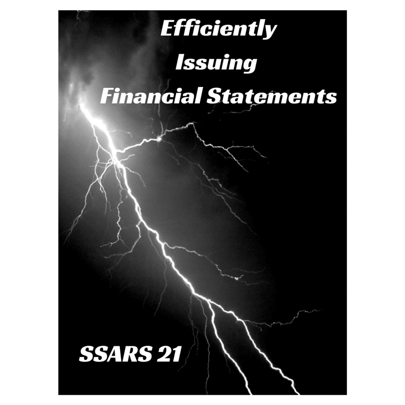 efficient way to issue financial statements