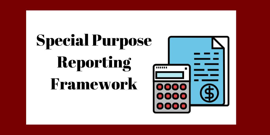 Special purpose reporting framework