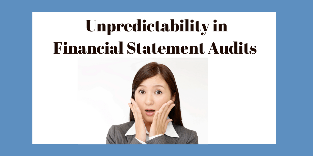Unpredictable audit procedure