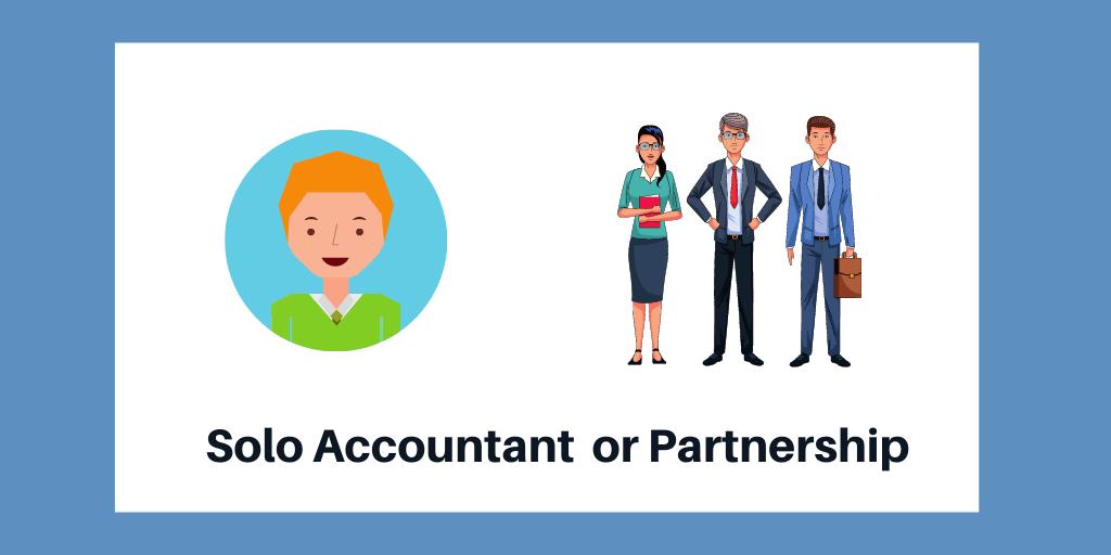Solo Accountant or Partnership