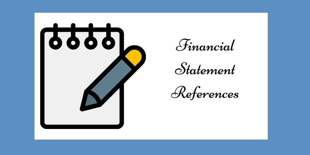 financial statement references