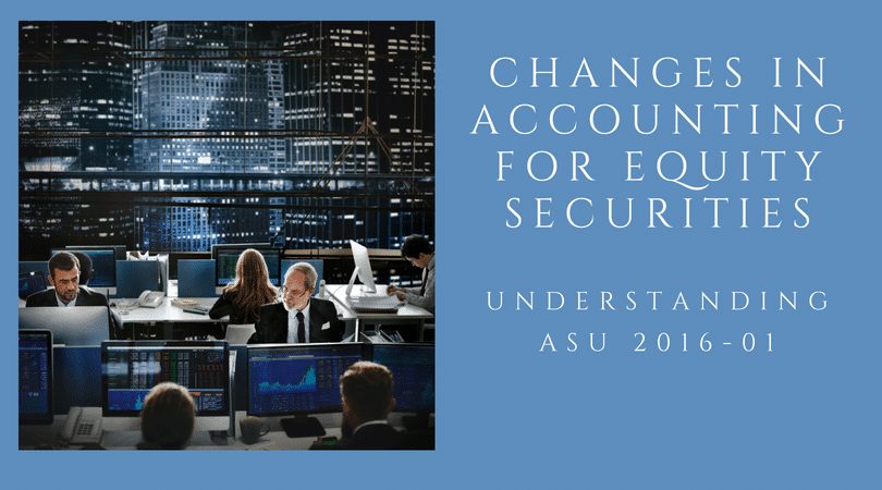 changes in accounting for equity securities