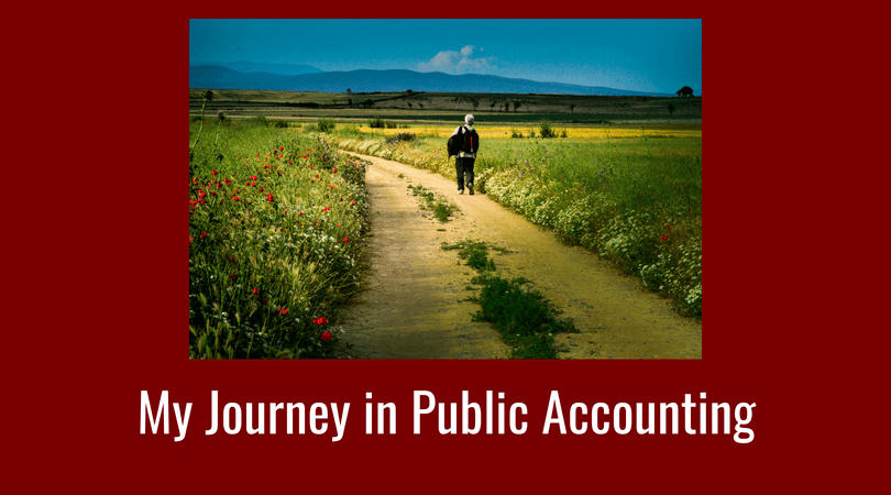my journey in public accounting
